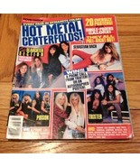 Movie Mirror Hot Metal Centerfolds, Bach, Slaug... - $13.99