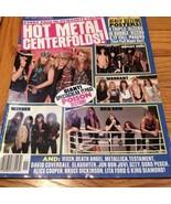 Movie Mirror: Hot Metal Centerfolds, Nov 1991, ... - $12.99