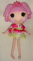"""Lalaloopsy 2009 Pink Hair Doll With Crown 33511KIE 12"""" Long Used - $19.79"""