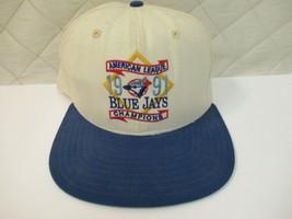 Vintage Blue Jays Snapback Hat American League Champions 1991 New Era RARE - $36.40