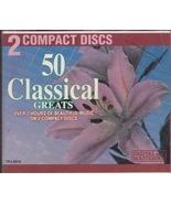 50 Classical Greats (2 Disc Set) Madacy Inc canada - $18.75