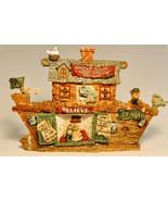Boyds Bears & Friends S.S. Noah 2450  The Ark  Bearstone - $25.53