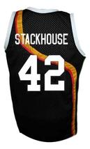 Jerry Stackhouse #42 Roswell Rayguns Basketball Jersey Sewn Black Any Size image 5