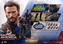 1/6 Hot Toys Action Figure Captain America Avengers MMS480 Normal - $640.00