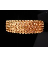 Stunning pave Bracelet / LOADED with stones / Suzanne somers/ original p... - $125.00
