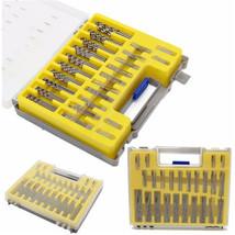 150pcs 0.4mm-3.175mm Micro Twist Drills Bit Set Rotary Tool Grinder Acce... - $12.73