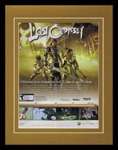 Lost Odyssey 2008 XBox Framed 11x14 ORIGINAL Vintage Advertisement - $34.64