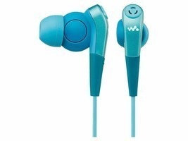 New! SONY In-Ear Headphones  MDR-NWNC33 L Noise-canceling Blue F/S - $74.79