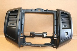 05-11 Tacoma Air Vents Dash Navigation Radio Trim Bezel BLACK