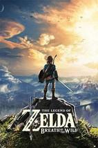 Legend of Zelda Breath of the Wild Poster - $29.00