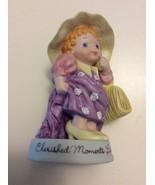 Avon Porcelain Girl Figurine Cherished Moments Last Forever   - $9.95