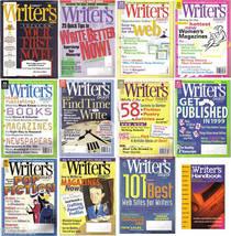 11 WRITER'S DIGEST MAGAZINES+THE WRITER'S HANDBOOK,2002 - $49.99