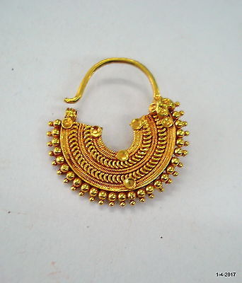 Traditional Design 20k Gold Nose Ring Nath And 39 Similar Items