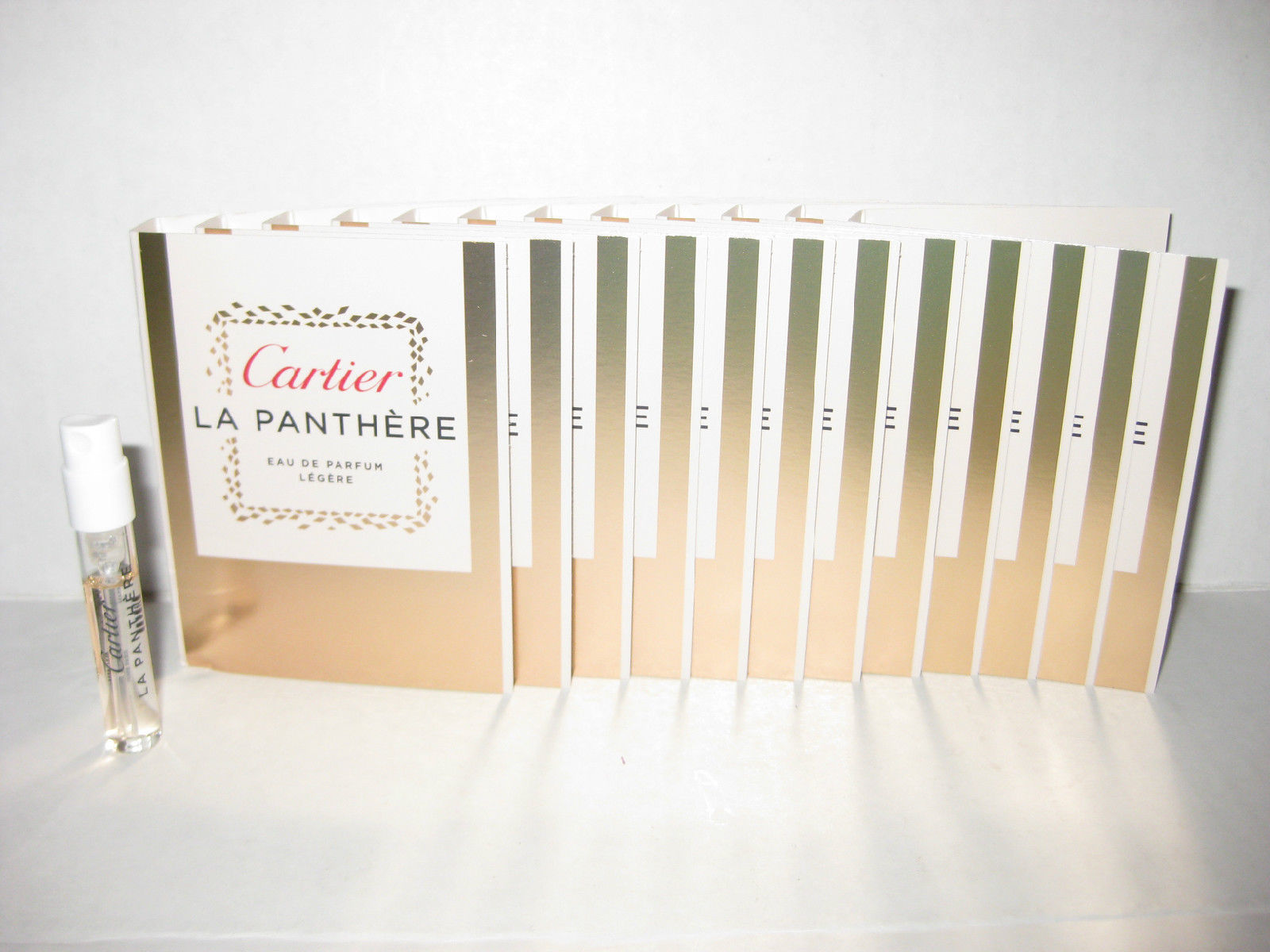 12 x La Panthere Legere by Cartier 1.5ml. Eau De Parfum Women Spray Sample Vial image 2