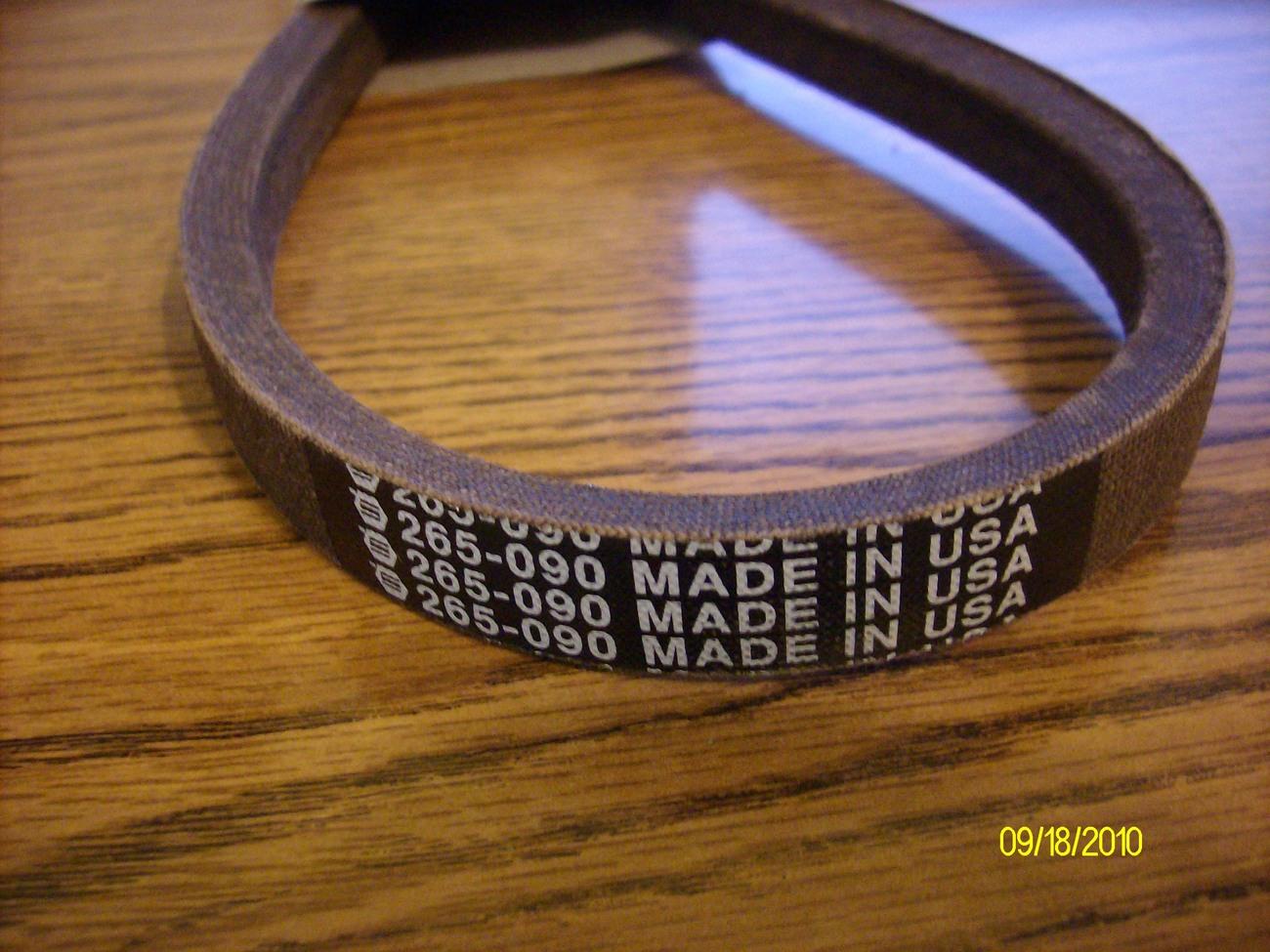 MTD Variable Speed Drive Belt 754-0281, 954-0281