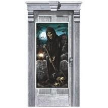 Cemetery Plastic Door Poster Halloween Party Decoration - $4.17