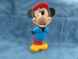 """Disney Mickey Mouse Hands in Back PVC Figure 5 1/2"""" High - $2.92"""