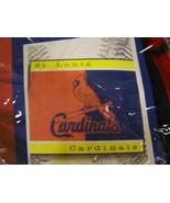 "ST. LOUIS CARDINALS MLB 60"" X 50"" FLEECE BLANKE... - $15.49"