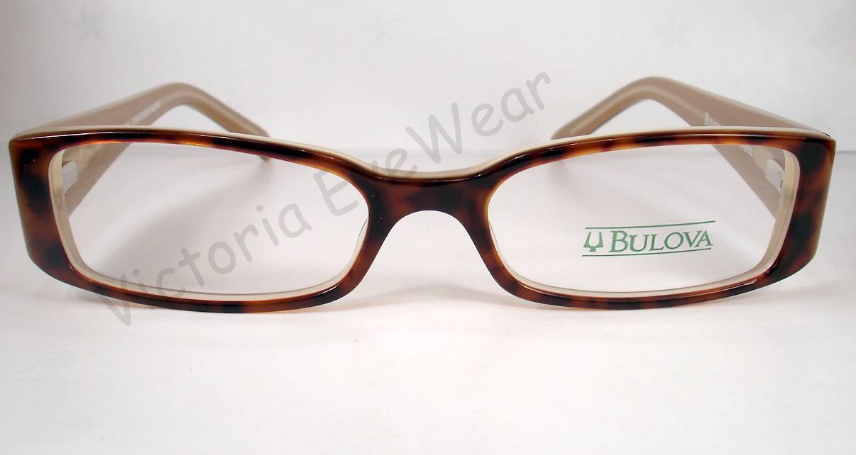 Bulova Kabul Tortoise Brown Women Eyeglasses and 50 similar items