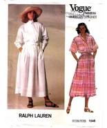 1985 TOP & SKIRT Pattern 1548-v Size 10 by RALPH LAUREN - $9.99