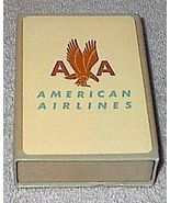 Vintage Old Logo American Airlines Playing Cards Sealed Slip Case - $20.00