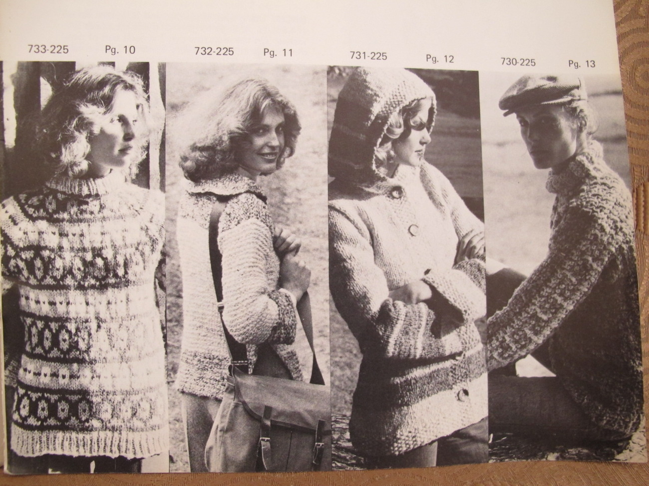 Vintage Bernat DANISH Bulky Crochet Knitting Patterns ADULTS Sweaters Coats etc