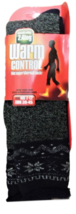 JARSEEN Warm Winter Thermal Socks, Full and Plush, Size 7-12US, EUR 39-45