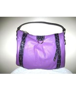 HANDBAG, MAXX NEW YORK (NEW) PEBBLE LEATHER LARGE. GET A FREE GIFT!! - $75.00