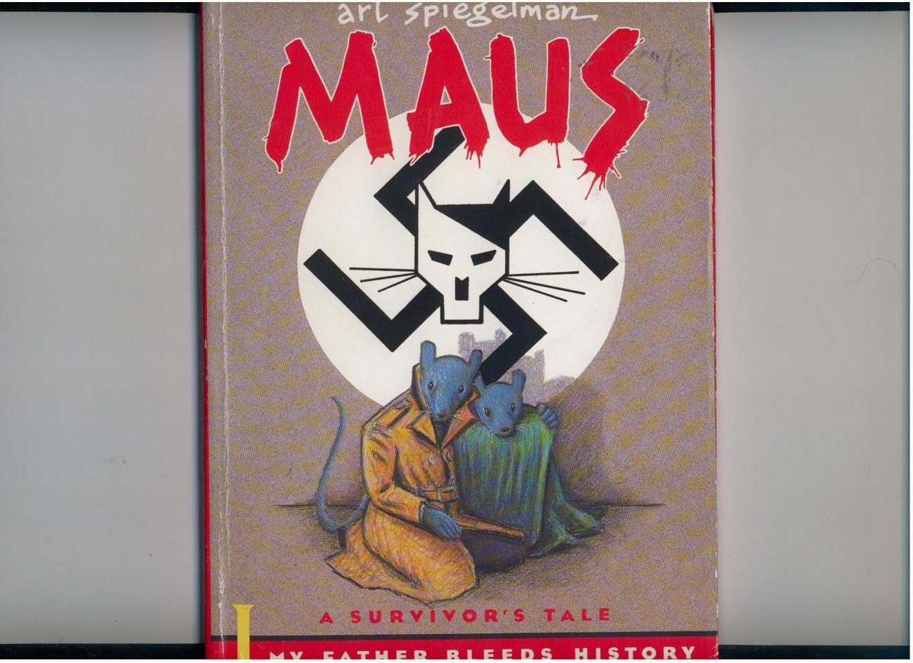 Spiegelman - MAUS: SURVIVOR'S TALE - graphic novel - part 1