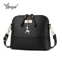 YBYT brand 2018 New Women Shoulder Bags Simple Fashion Shell Shape Women... - $14.86