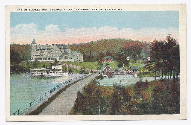 Primary image for c1910 - Bay of Naples Inn, Naples, ME - Unused