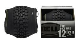 "Bell Standard Kids Bike Tire, 12.5"" x 1.75-2.25"" | Black UPC#0035011975528 - $17.32"