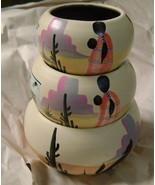 3 Mexican Decorative Bowls - $10.00