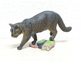 Kaiyodo Natural Monuments Okinawa IRIOMOTE CAT animal figure - $21.55
