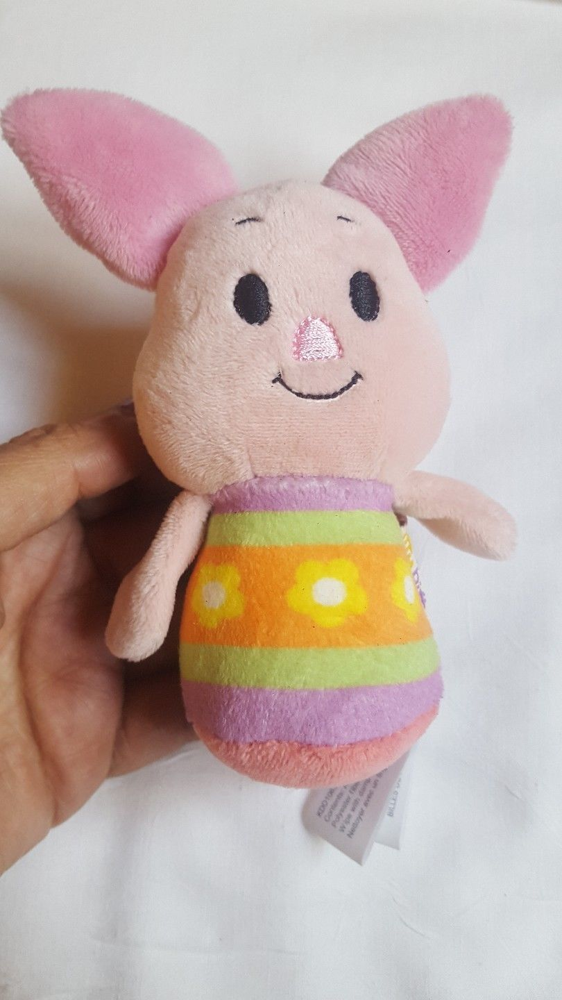 Primary image for EASTER PIGLET Itty Bittys Disney Winnie the Pooh Easter Hallmark pre-owned doll