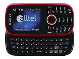 Samsung SCH U450 Intensity (Alltel) Cellular Phone Slider Qwerty - Red - $38.69