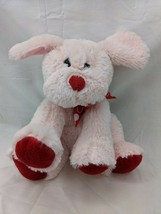 "Animal Adventure Pink Dog Plush Puppy 8"" 2018 Red Nose Paws Stuffed Anim... - $9.95"