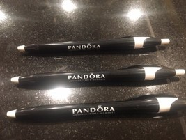 3 Pandora Charm Store Pens Black Authentic Unavailable To Public - $9.50