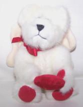 "Teddy Bear 5"" Boyds White Angel GONNA LUVYA Fully Jointed Stuffed Plush ... - $14.25"