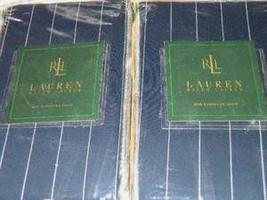 New Ralph Lauren Worth Avenue Stripe European Pillow Shams - 3 Shams - New - $79.99