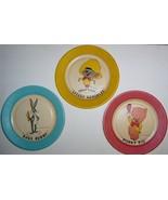 Speedy Gonzales - Porky Pig - Bugs Bunny 1959 Paper Plates - $9.95