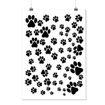 Animal Dog Paw Fashion Dog Foot Matte/Glossy Poster A0 A1 A2 A3 A4 | Wel... - $7.99+