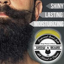 Beard Balm | Leave-in Conditioner & Softener for Men Care | Best Facial Hair & M image 4