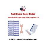 Small Anti Snore Nasal Strips Helps Breathe Right-Sleep Better USA SELLER - $3.95+