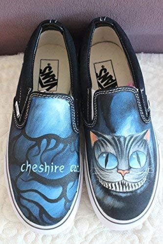 ebc8032d31 51dqqygqyxl. sl1500. 51dqqygqyxl. sl1500. Vans Shoes Women Black Alice In  Wonderland Unique Sneaker Men ...