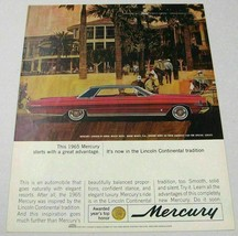 1965 Print Ad Mercury 4-Door Car Doral Beach Hotel Miami,FL - $13.96