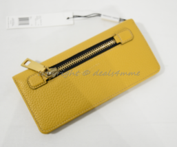 NWT MARC By Marc Jacobs M0008451 Gotham Leather Open Face Wallet Rustic ... - $139.00
