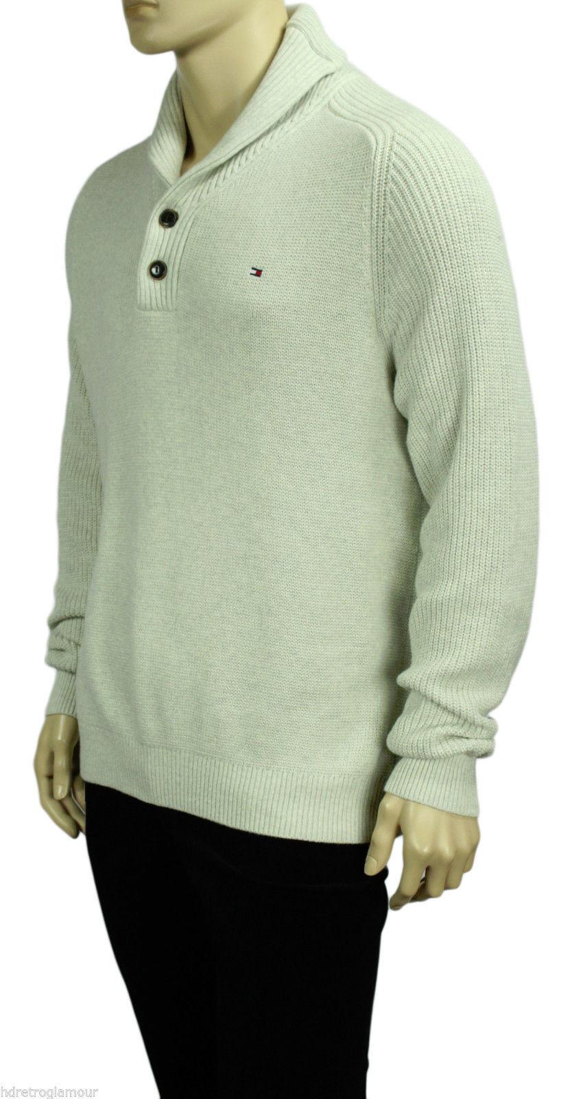 9267da2df83a New Tommy Hilfiger Adler Shawl Collar Raglan and 50 similar items
