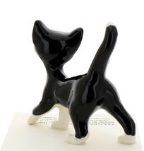 Hagen-Renaker Miniature Ceramic Cat Figurine Black and White Tuxedo Cat Papa image 3