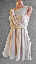 Women FOREVER NEW Cocktail Draped A-Line Flared Dress Size S Buy7=FreePo... - $24.55